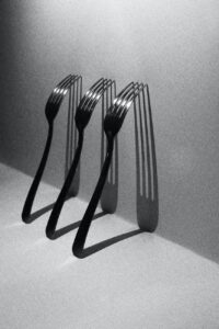 stainless steel cutlery, stainless steel forks